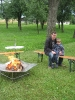Grillabend am Lagerfeuer